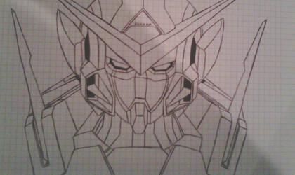 Exia Gundam by BlackShot96XD