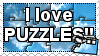 Puzzle Stamp by TheDuckofPower