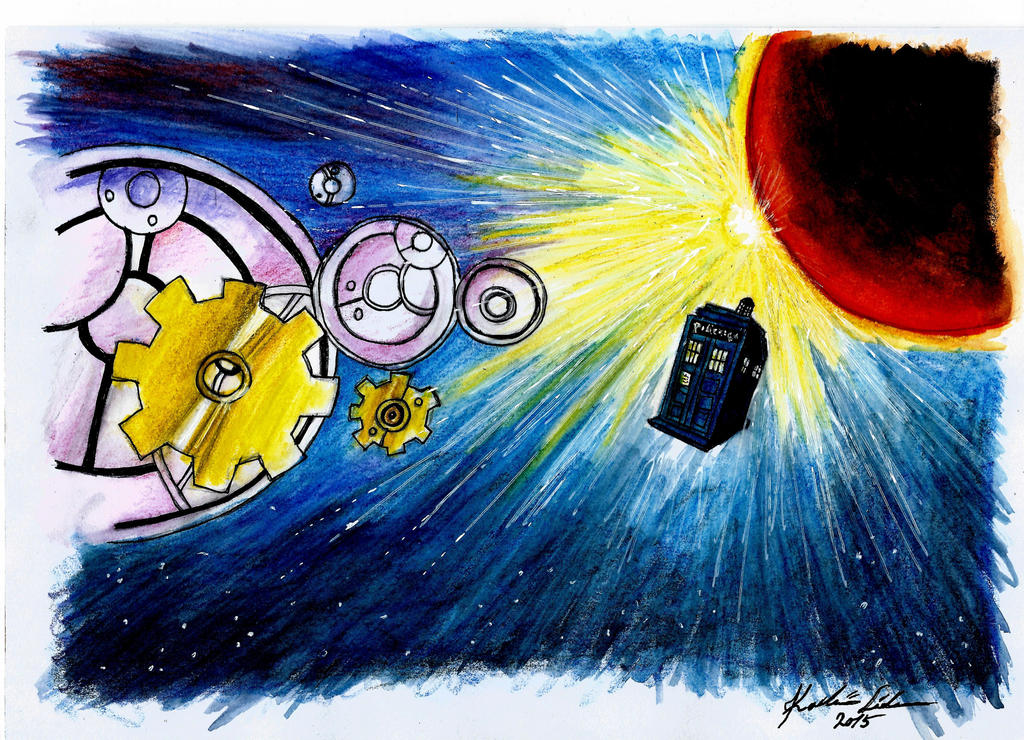 http://elvyren.deviantart.com/art/Road-to-Gallifrey-569808997