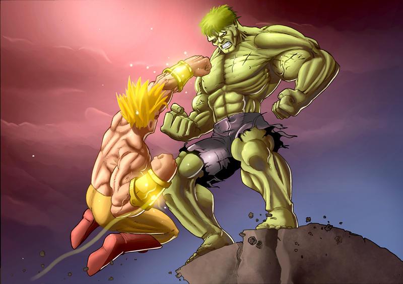 super saiyan hulk
