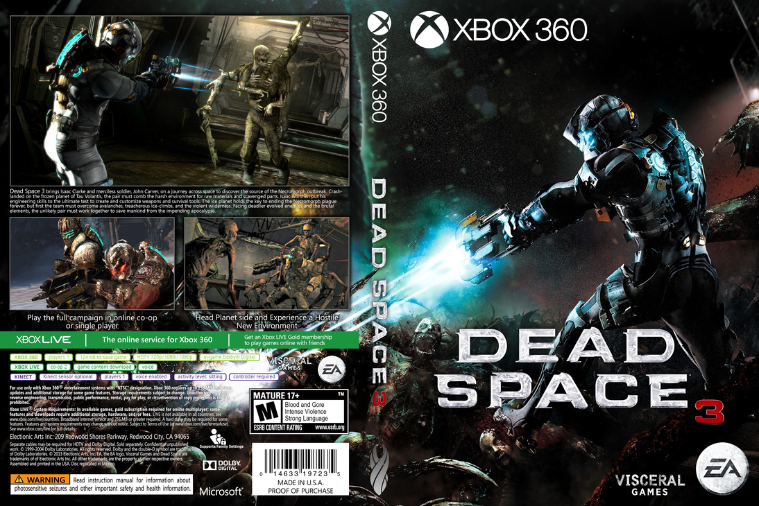 dead space 3 custom cover by whitehoui on deviantart rh deviantart com Dead Space DLC PC Dead Space PC Controls