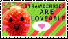 Strawberry Stamp by Mimisuzu