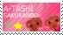 Sakuranbo Stamp by Mimisuzu