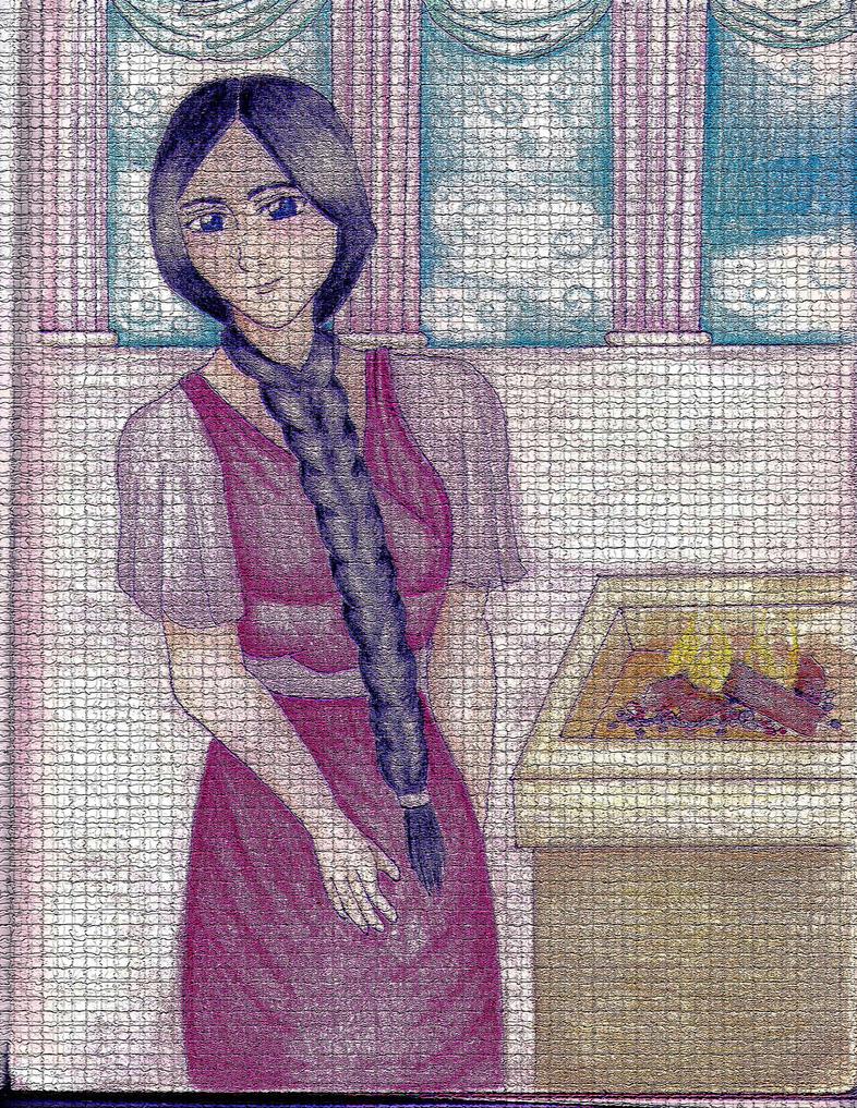 Unohana-Mosaic by PrincipessaItaliana
