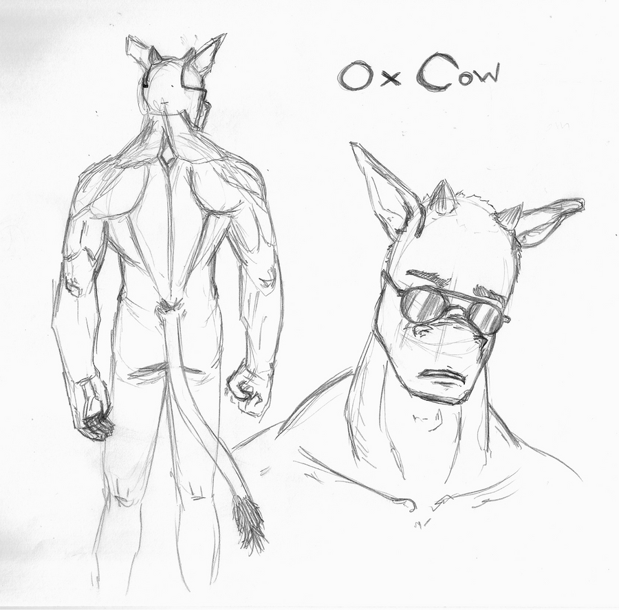Ox Cow by VitorFF