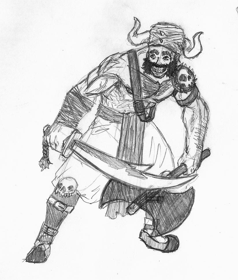 Barbaro e indiano by VitorFF