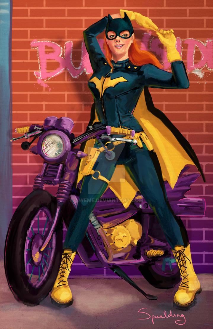 Batgirl of Burnside by AweMe