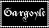 Gargoyle Stamp by KentaroFlamepaw