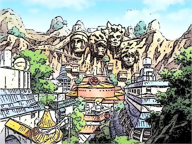 Hidden Leaf Village, Konoha by DarkZBoy on DeviantArt