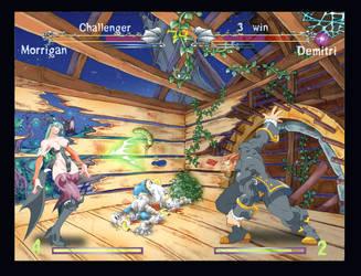 Darkstalkers fight by danihell-lima