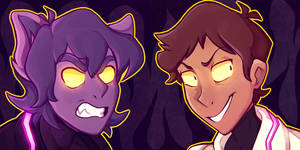 Galra Keith and Dark Lance