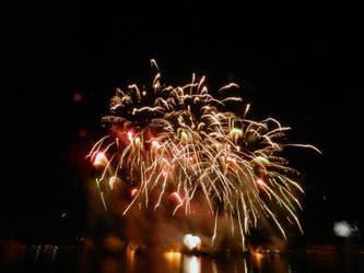 Fireworks, Smoke and Fireballs at Epcot