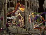 Link vs Lizalfos