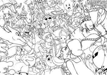 Smash Battle! by Minaya