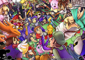 Smash Battle! - color by Minaya
