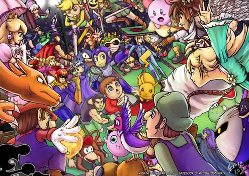 Smash Battle! - color