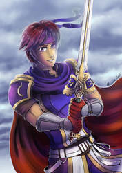 Roy - Smash Bros wii u by Minaya
