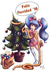 Comision: Sweetie Darling Feliz Navidad! by Minaya
