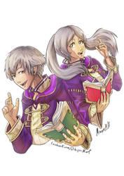 Robin - Fire emblem awakening by Minaya