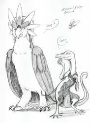 Sketch - Pokemon - turned Pokemon by EiswolfZero