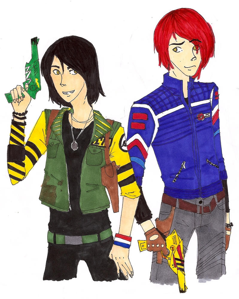 Fun ghoul and party poison by banefullove d47mn47