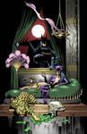 Bat and Cats by PowermasterJazz