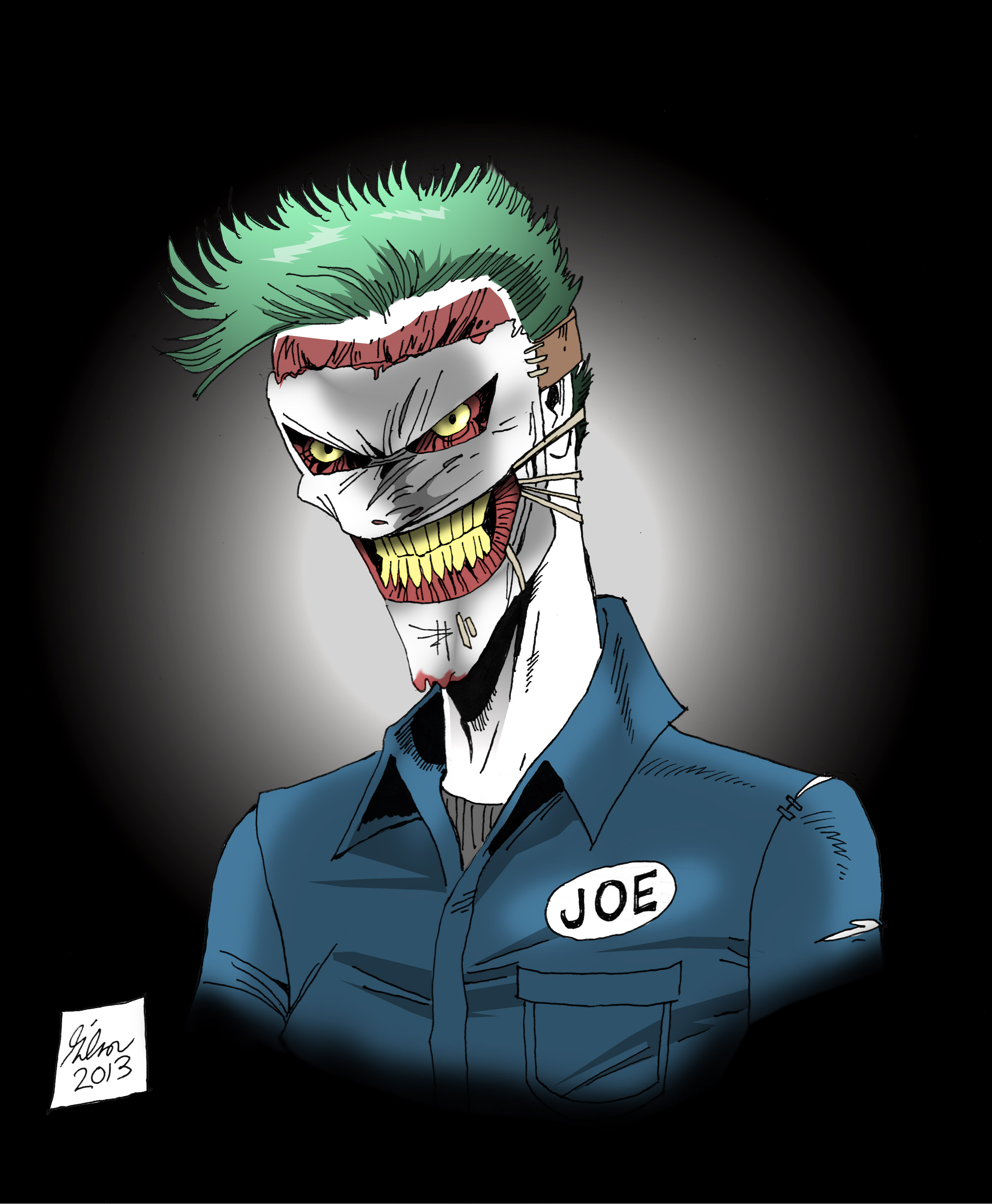 New 52 Joker by PowermasterJazz on DeviantArtNew 52 Joker Wallpaper