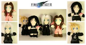 Chibi Plush Figurines- FF7