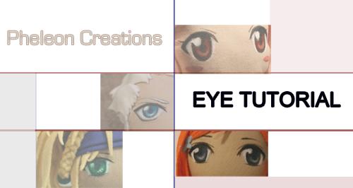 How to Paint Plushie Eyes by pheleon
