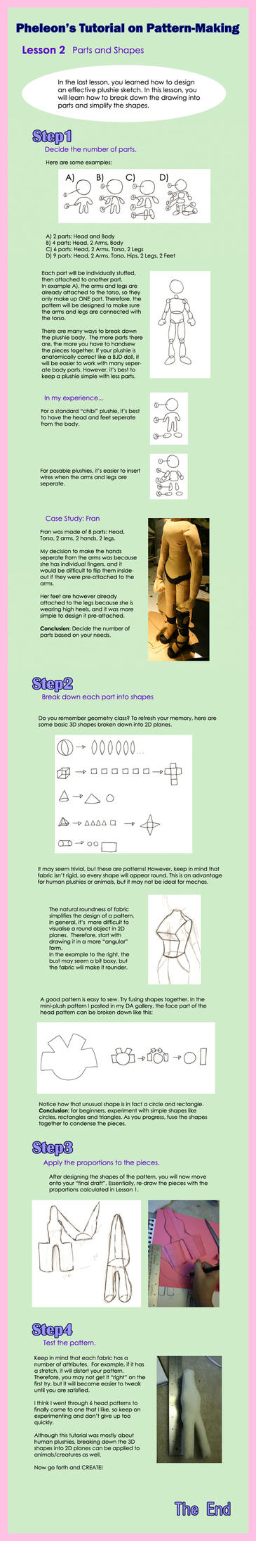 How to make patterns- Lesson 2 by pheleon