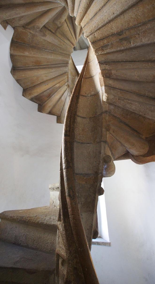 Double Spiral Staircase / Doppelwendeltreppe Graz by CeaSanddorn