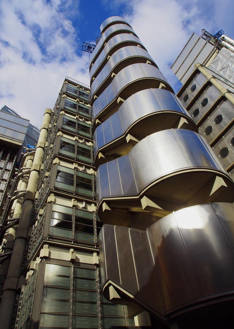 Lloyds building by CeaSanddorn