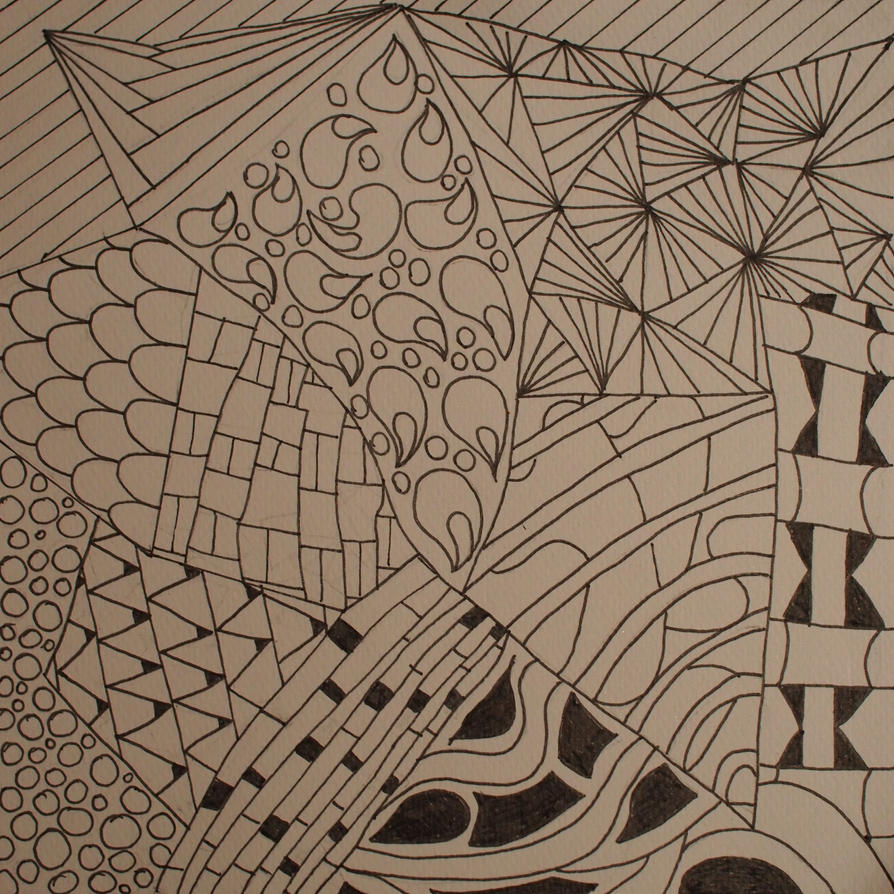 Zentangle 6/9 overlay by CeaSanddorn