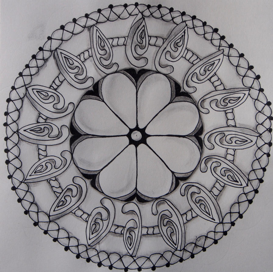 Zendala - floral by CeaSanddorn