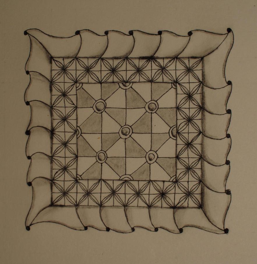 Zentangle fineART by CeaSanddorn