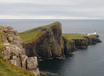 Scotland Neist Point Lighthouse by CeaSanddorn