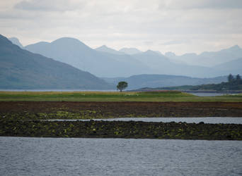 Scotland Dornie, Kyle of Lochalsh by CeaSanddorn