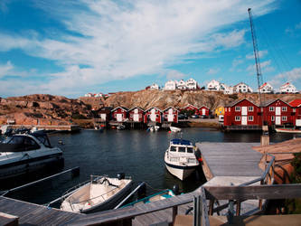 Smoegen Harbor by CeaSanddorn
