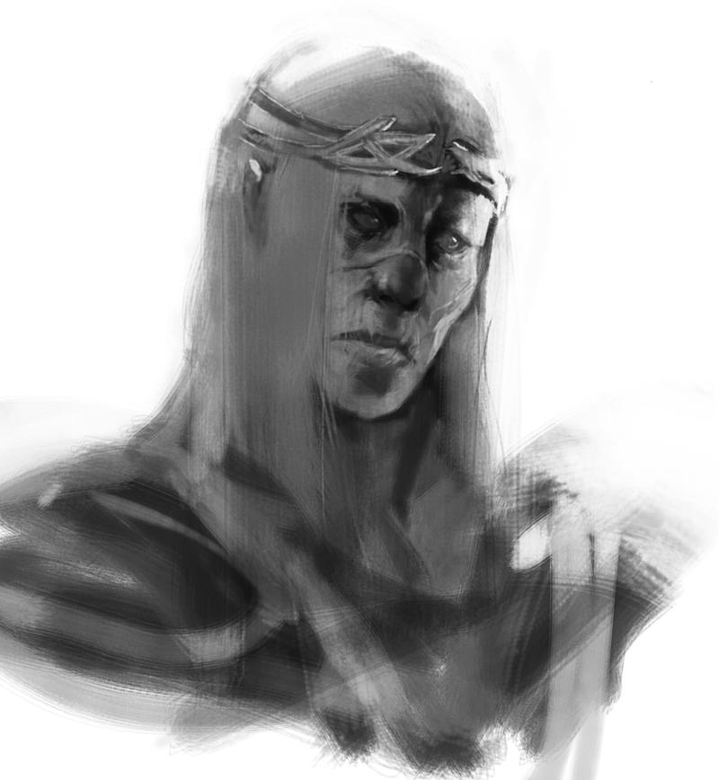 Celebrimbor Wraith by Yzah