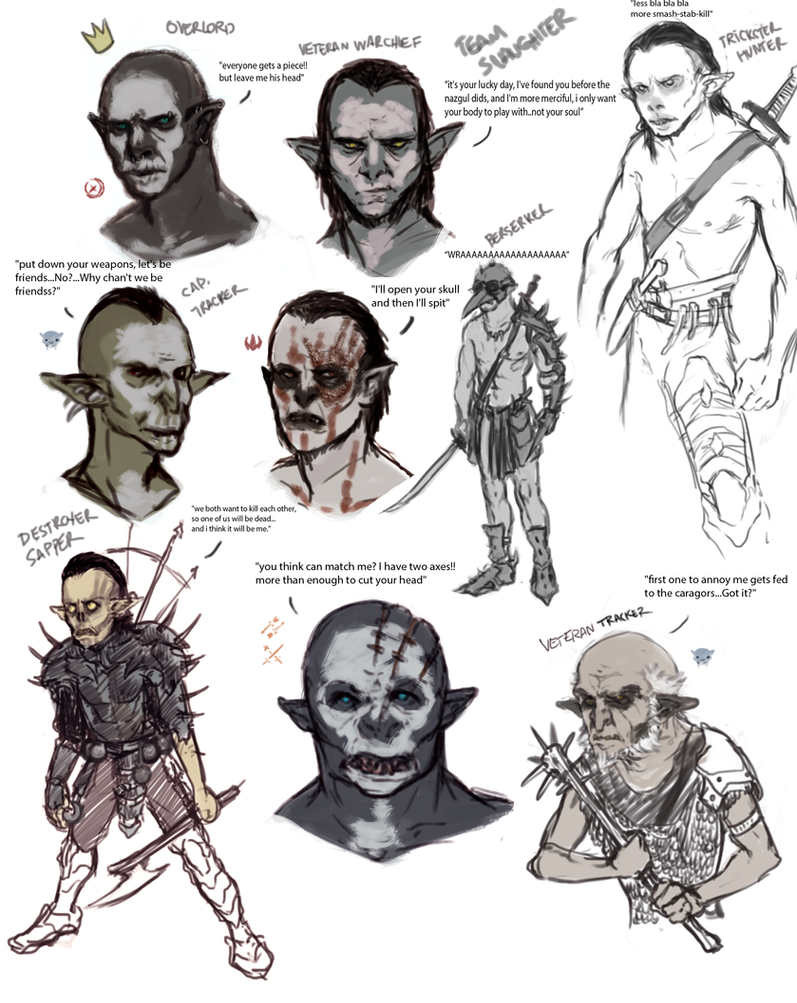 ORC HORDE - SLAUGHTER TEAM by Yzah