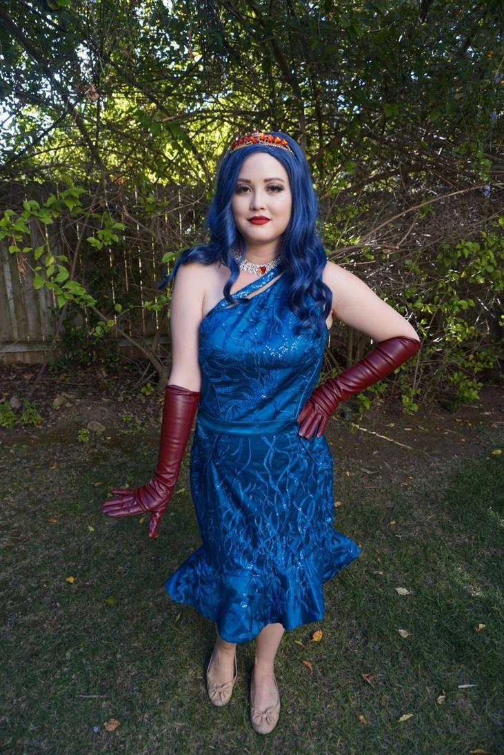 Evie descendants 2 cotillion costume by Twincess on DeviantArt