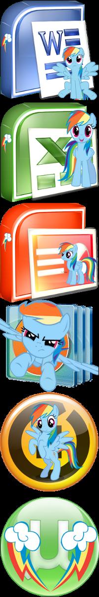Pony icons3 by Dribmeg