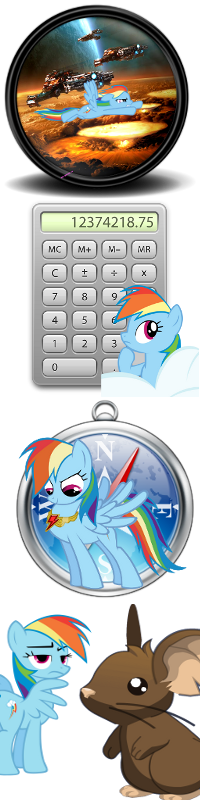 Pony icons4 by Dribmeg