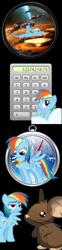 Pony icons4 by Dribmeg
