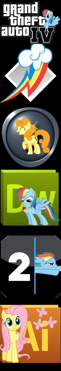Pony icons6 by Dribmeg