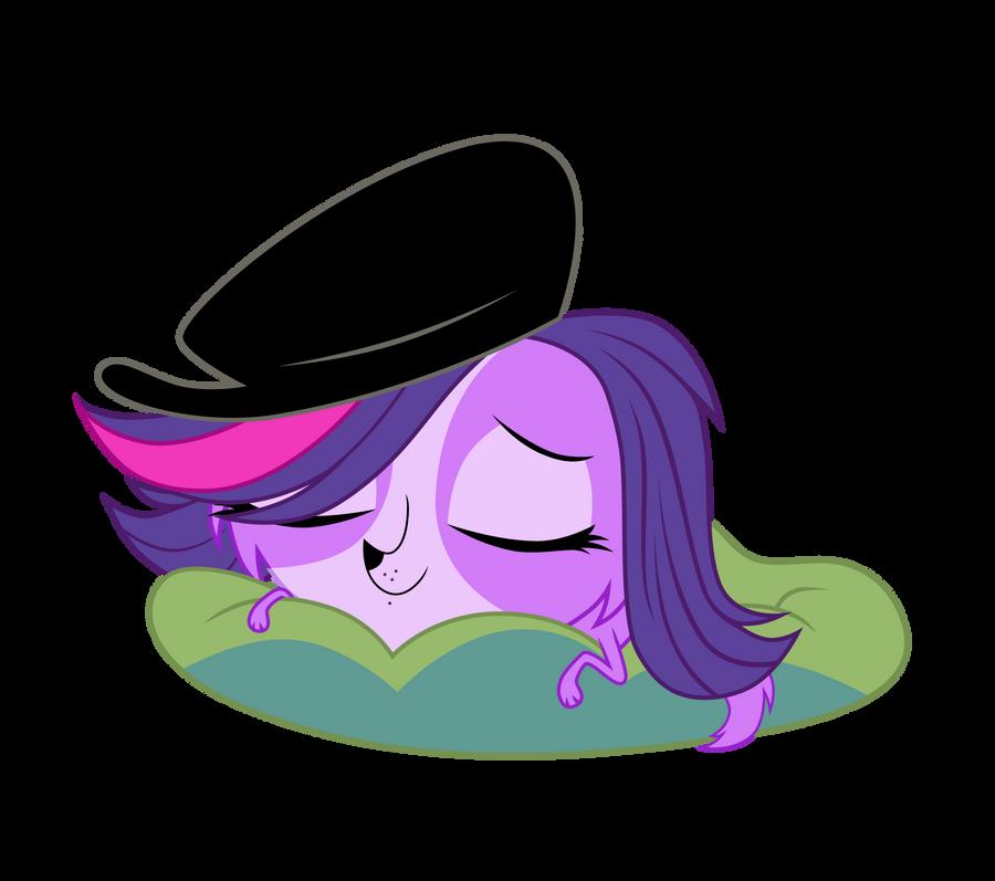 Zoe sleeping by Pony4444