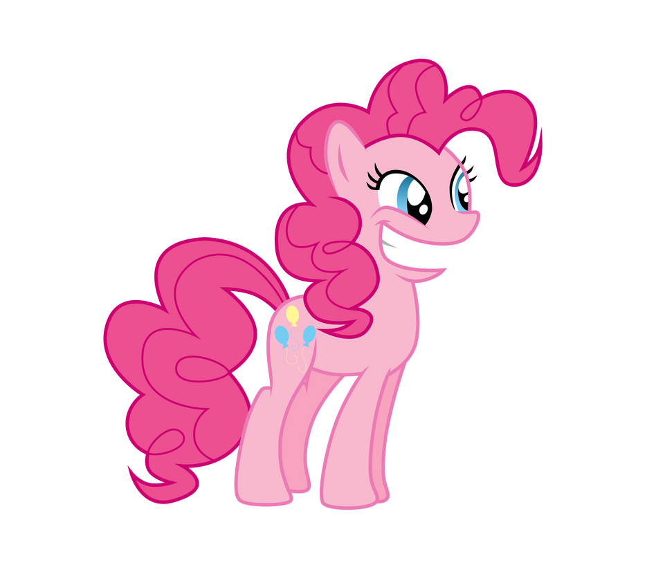 Pinkie Pie is excited by Pony4444