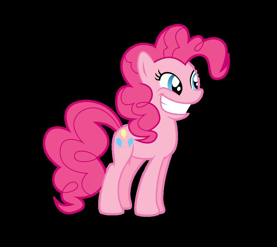 Pinkie Pie is excited by Dribmeg