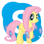 Fluttershy Skype icon