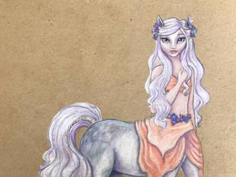 Pastel Centaur by Daydreamer-Arts